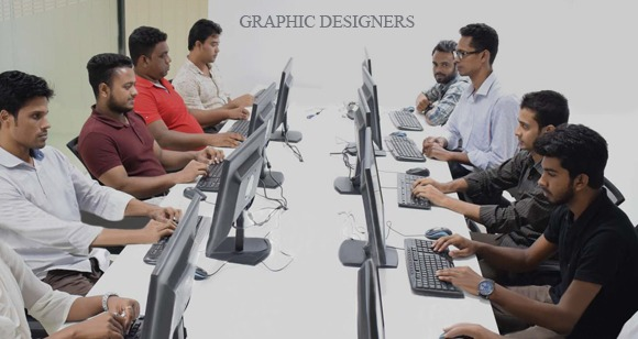 A Branch Graphic Designers Working in Clipping Way